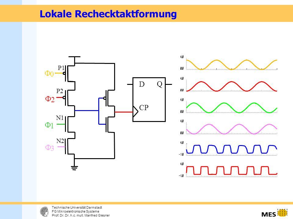 9 Technische Universität Darmstadt FG Mikroelektronische Systeme Prof.