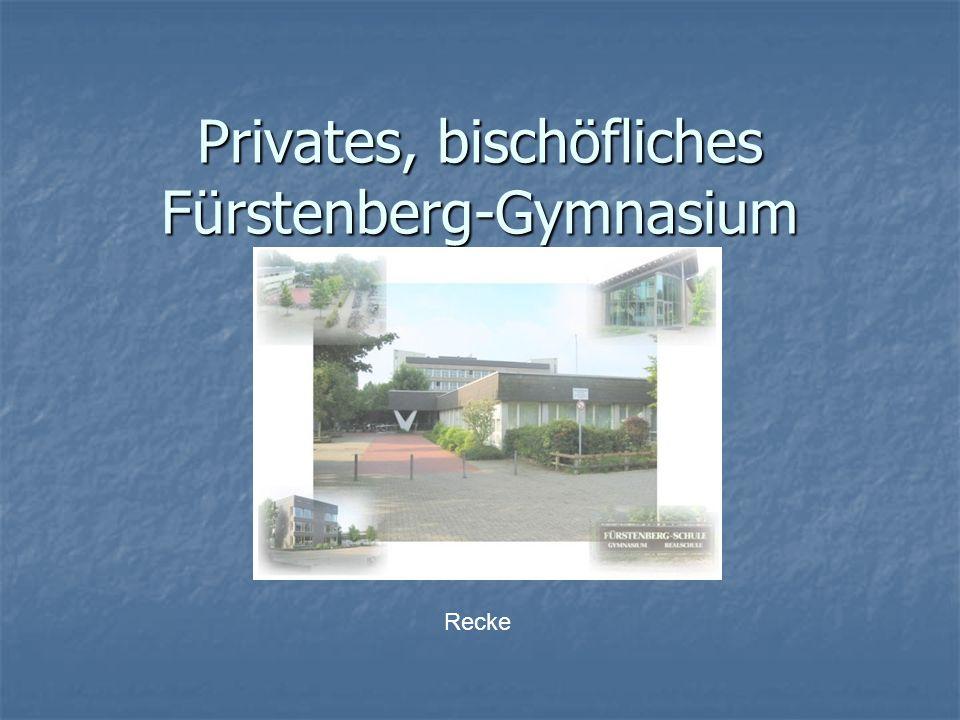 Privates, bischöfliches Fürstenberg-Gymnasium Recke
