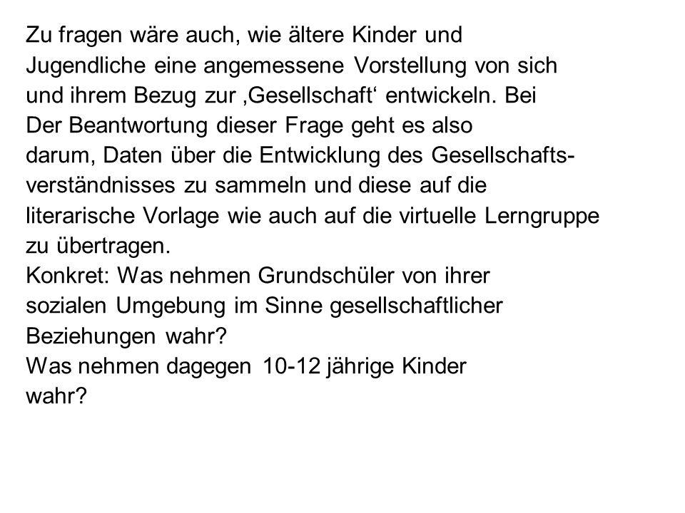 Hinweise auf gesellschaftliche Bezüge bei Kalle 1-3: Die Berufe / die sozialen Rollen der Eltern und die Beschreibungen des kleinen Ortes als Gemeinwesen -> Polizist.