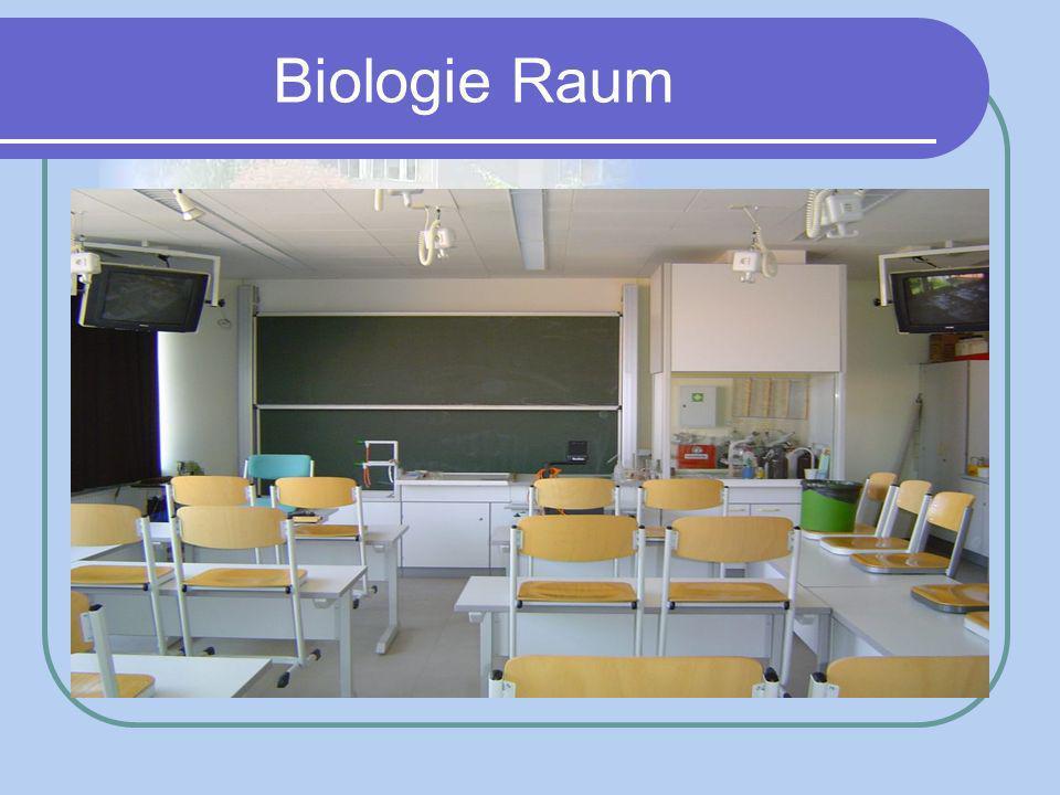Biologie Raum