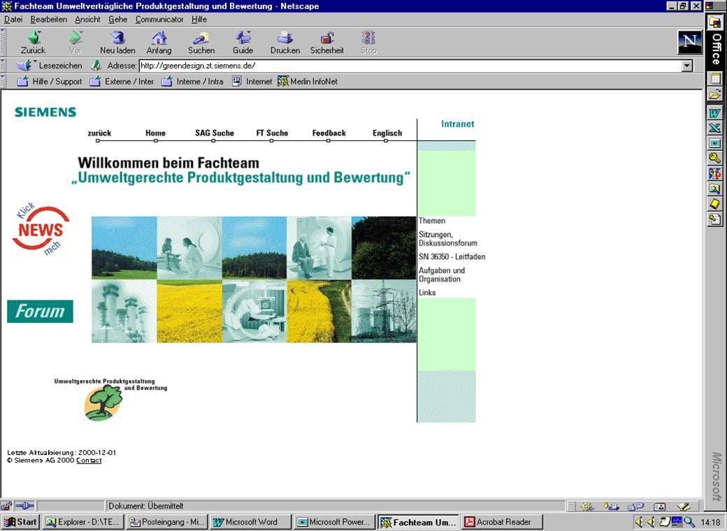 CT ES PE / Quella/Pdb/ 11.01.2014 Produktbezogener Umweltschutz