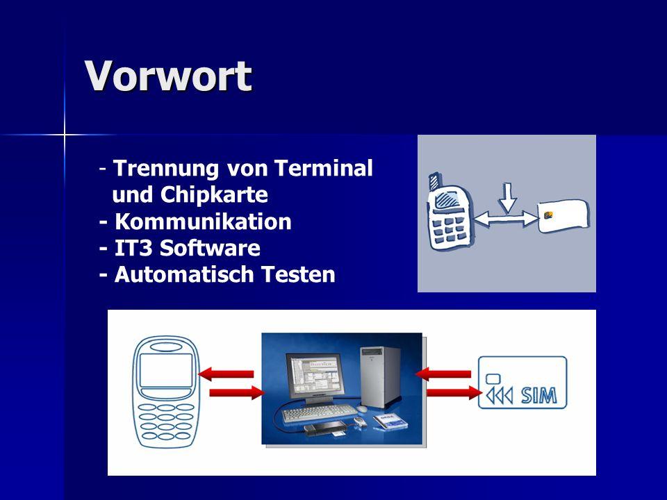 Modifizierte ATLM Test entwickeln analysieren und definieren Ausführen und Bewerten Entscheidung zum automatischen Testen Grundlage ATLM Chipkarte & IT3 Modifizierte ATLM Implementierung Fazit