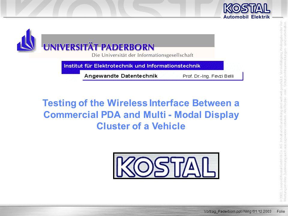 © 2002, Leopold Kostal GmbH & Co.KG. Inhalt und Darstellung sind weltweit geschützt.