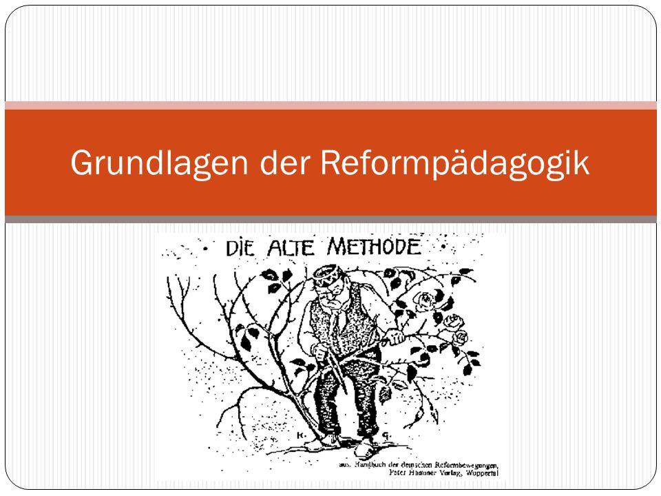 Grundlagen der Reformpädagogik