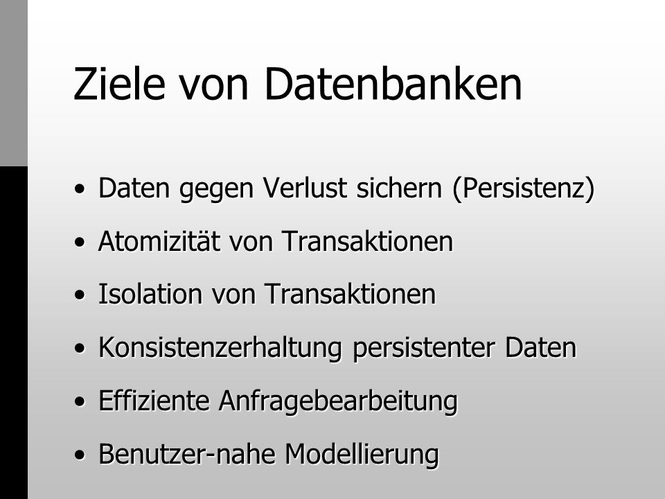 Transaktionen Transaction-Objekte - Factory-Idee...