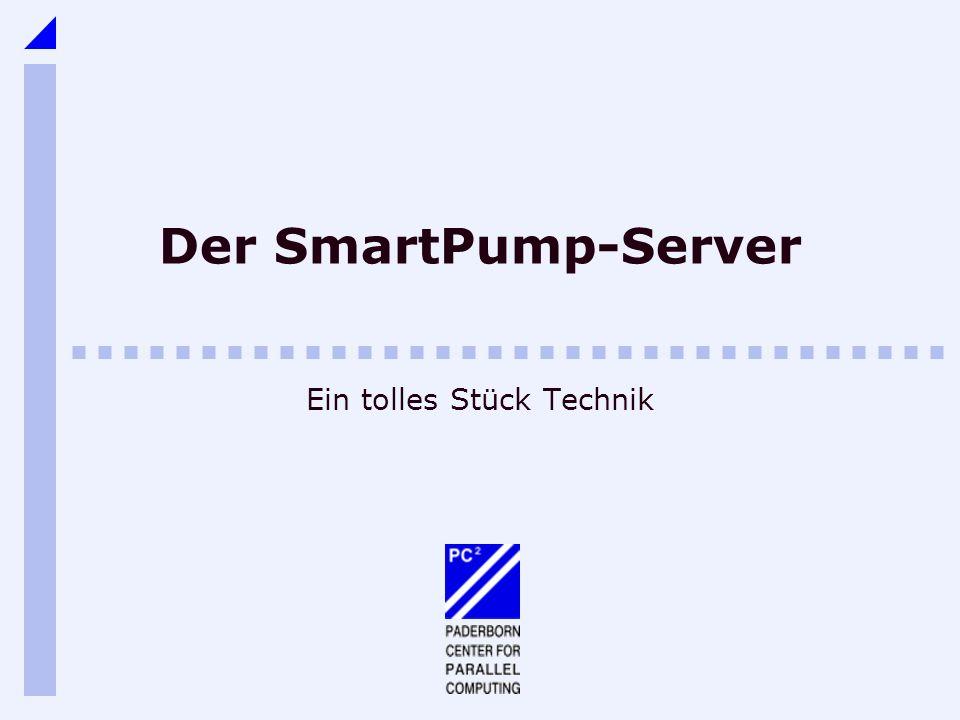 Der SmartPump-Server Ein tolles Stück Technik