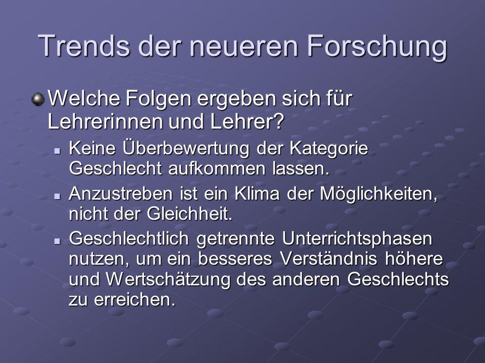 Literatur Hartmann, Jutta: Lebensgestalltungsmöglichkeiten und Geschlecht – Herausforderungen an Schule heute.