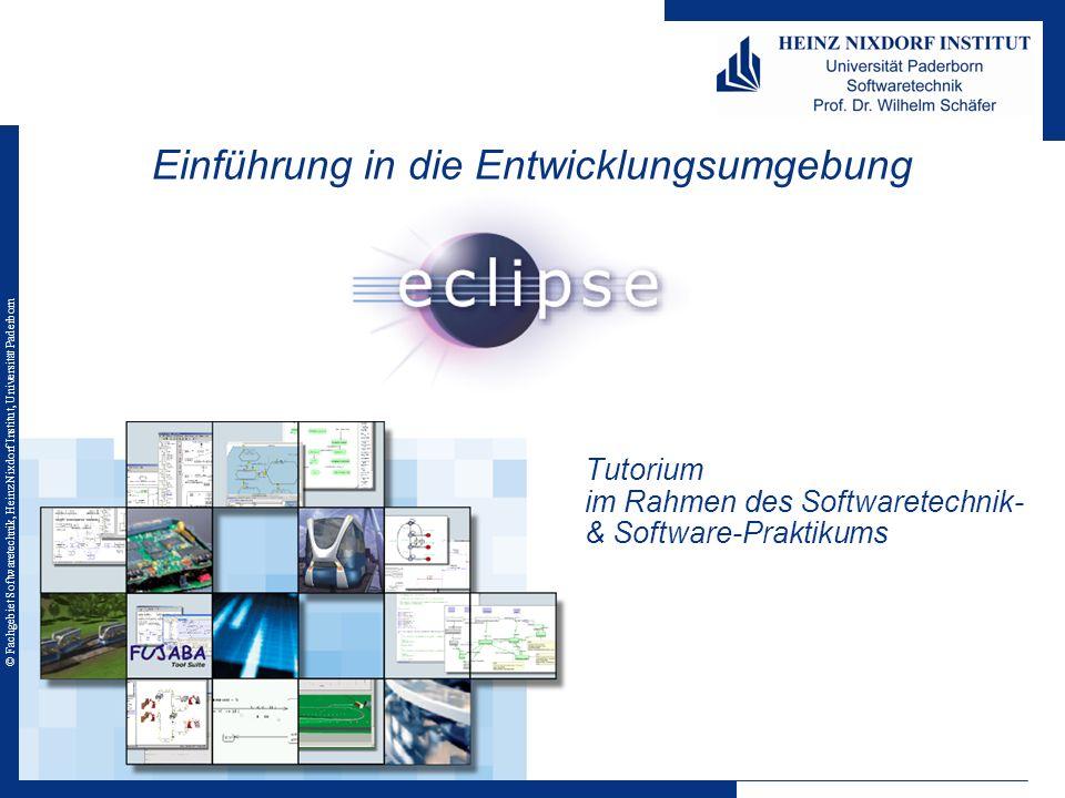 © Fachgebiet Softwaretechnik, Heinz Nixdorf Institut, Universität Paderborn Inhalt 1.
