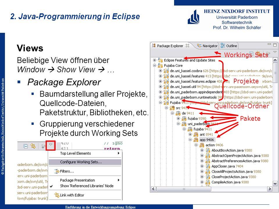 © Fachgebiet Softwaretechnik, Heinz Nixdorf Institut, Universität Paderborn 6.