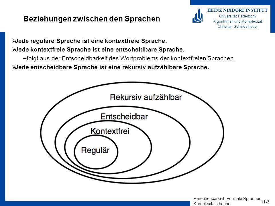 Berechenbarkeit, Formale Sprachen, Komplexitätstheorie 11-14 HEINZ NIXDORF INSTITUT Universität Paderborn Algorithmen und Komplexität Christian Schindelhauer Dial D for Diagonalization.