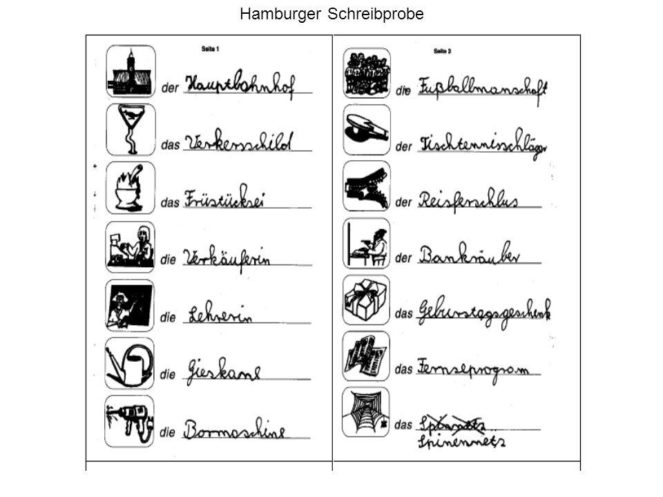 Hamburger Schreibprobe