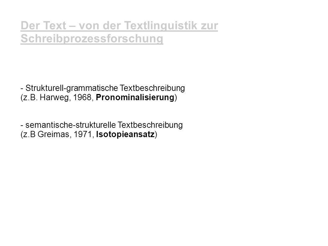 3.Textualitätshinweise 3.3 Grenzgänger - Tempuskonstanz z.B.