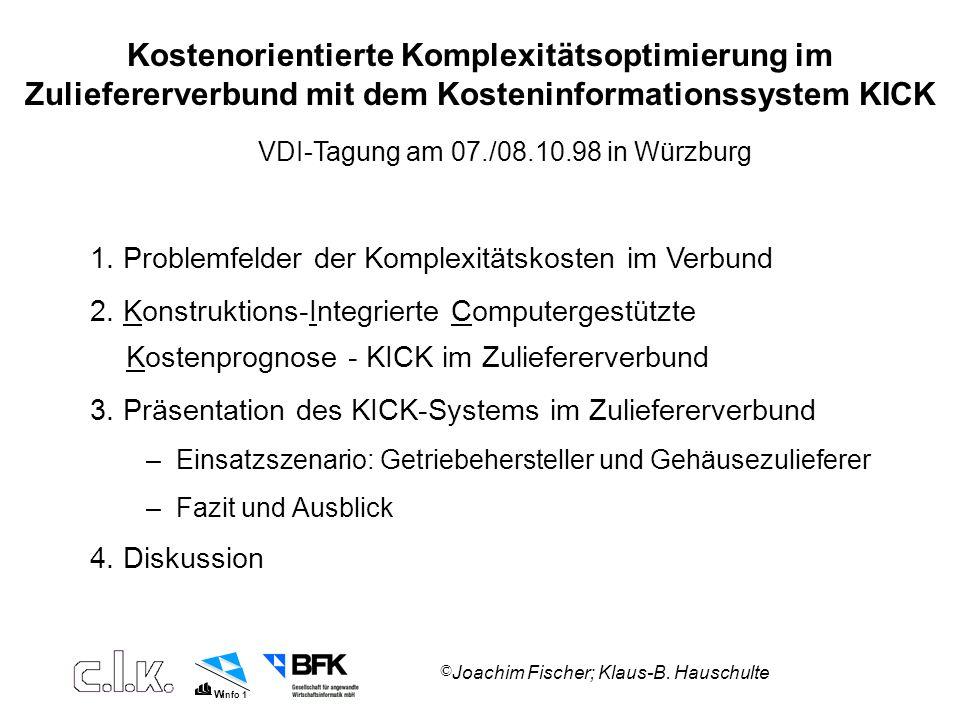 W info 1 © Joachim Fischer; Klaus-B.Hauschulte 1.
