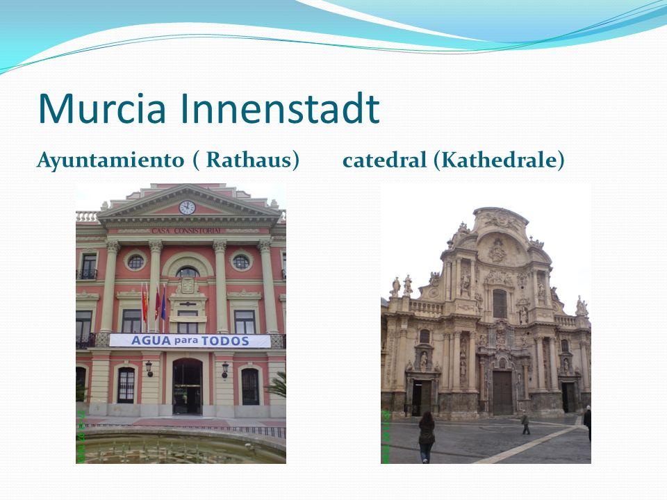 Murcia Innenstadt Ayuntamiento ( Rathaus) catedral (Kathedrale)