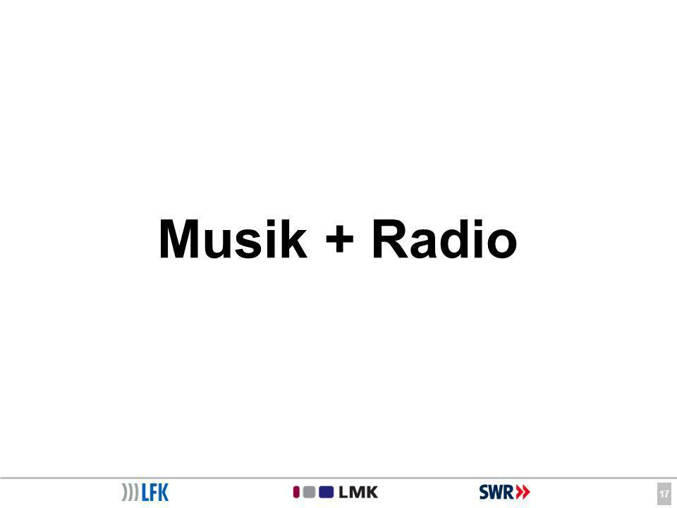 17 Musik + Radio