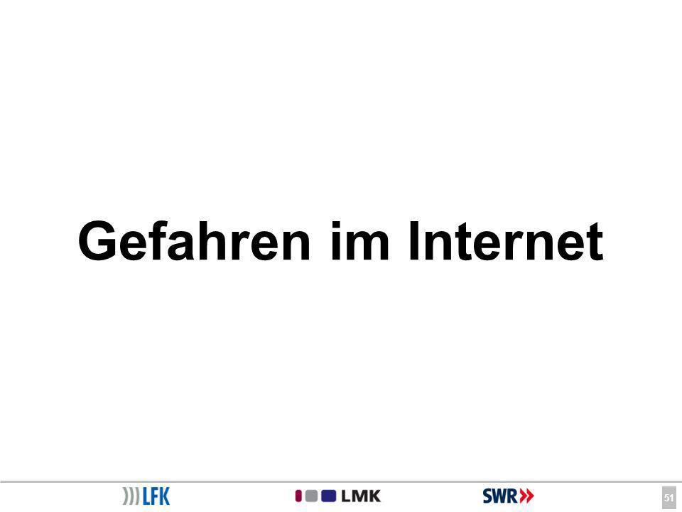 51 Gefahren im Internet