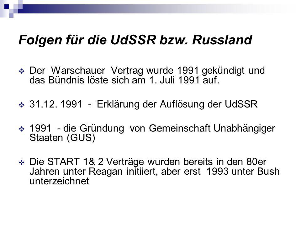 Thesen : Die Sowjetunion erhoffte sich von guten diplomatischen Beziehungen zu anderen Staaten auch verbesserte wirtschaftliche Beziehungen.