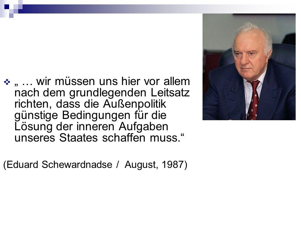 Gorbatschow / Warschauen Pakt Wohlwollende und kooperationsbereite Staaten nützen dem System und damit unseren Interessen mehr als unterdrückte Satelliten