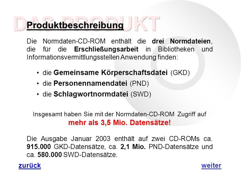 MAB MAB Die Datensätze auf der Normdaten-CD-ROM liegen in zwei Formaten vor: dem Thesaurus-Format (Anzeigeformat) und dem MAB-Format (strukturiertes Format).