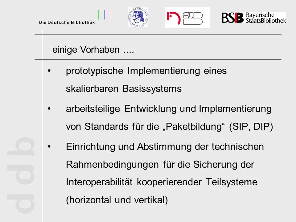 prototypische Implementierung eines skalierbaren Basissystems arbeitsteilige Entwicklung und Implementierung von Standards für die Paketbildung (SIP,