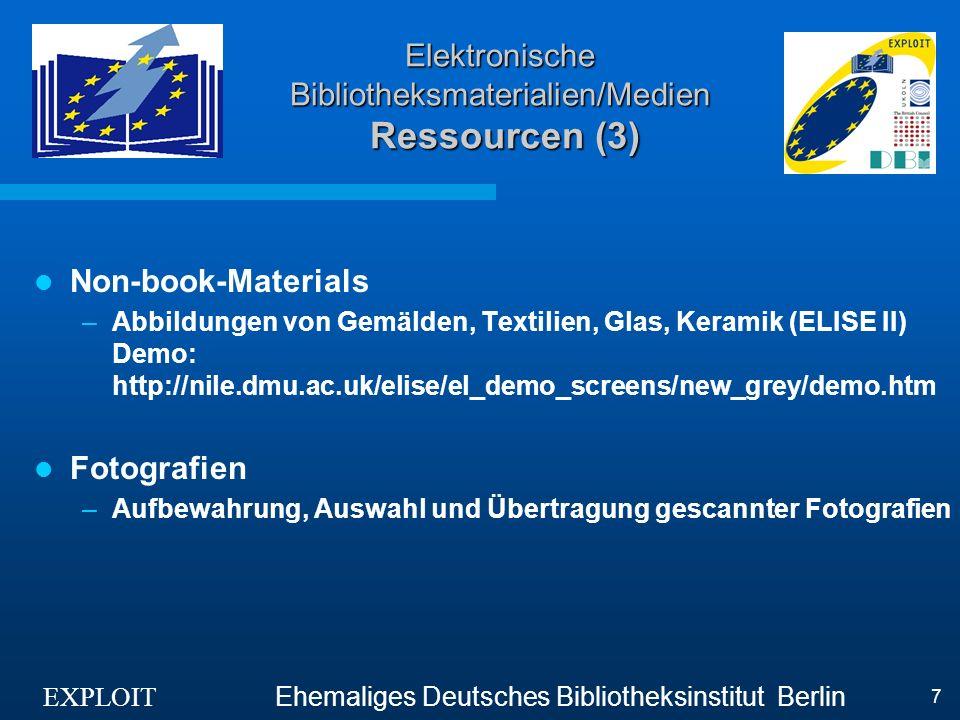 EXPLOIT Ehemaliges Deutsches Bibliotheksinstitut Berlin 8