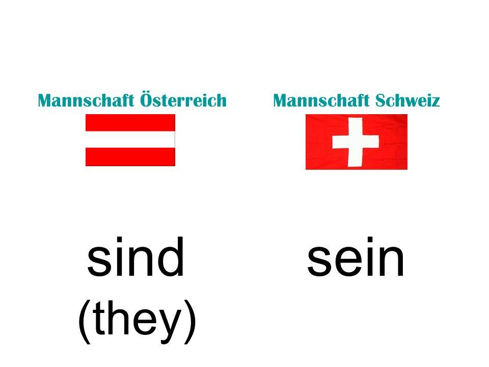 Mannschaft ÖsterreichMannschaft Schweiz bistseid