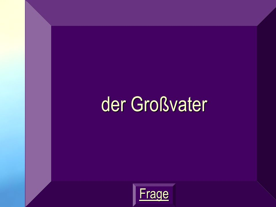 GERMANGERMAN JEOPARDY JEOPARDY Thanks for PLAYING! Go to Double Jeopardy
