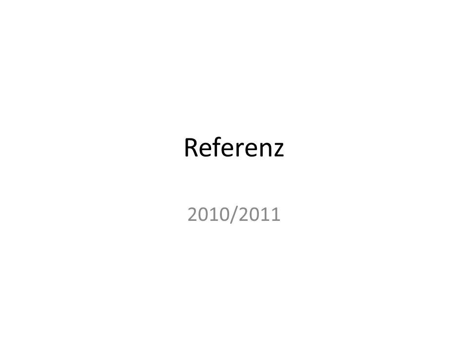 Referenz 2010/2011