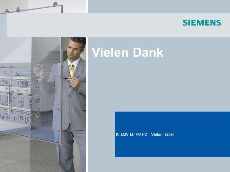 Title of the presentation IC LMV LP PO P2 Stefan Häbel Vielen Dank