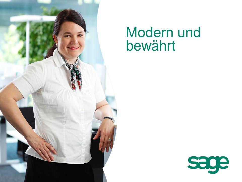 Sage: Firmenpräsentation Modern und bewährt