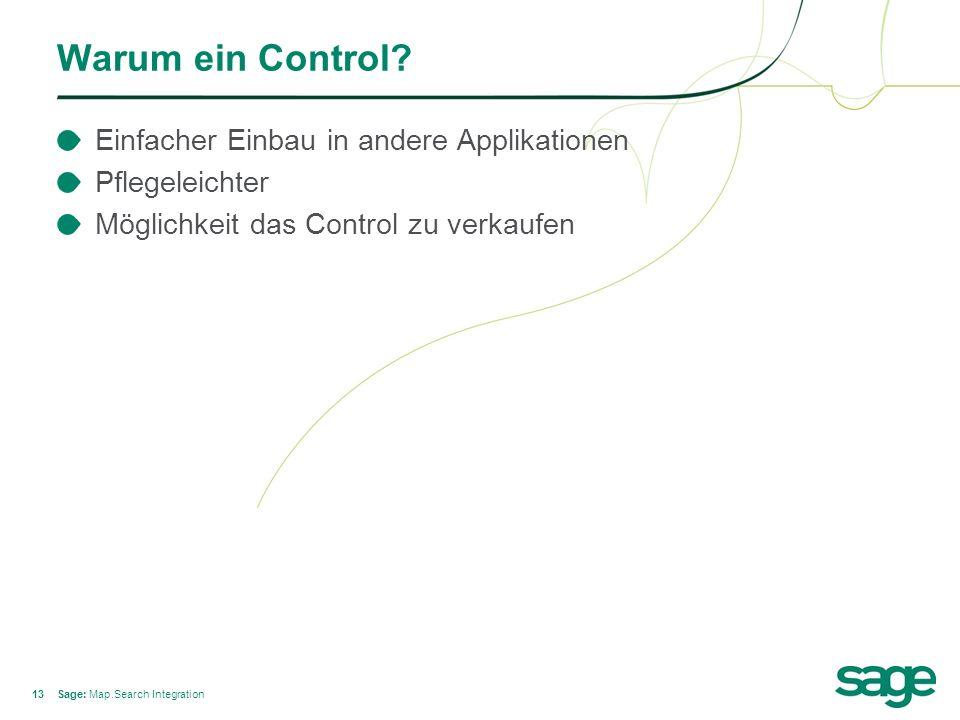 13 Warum ein Control.