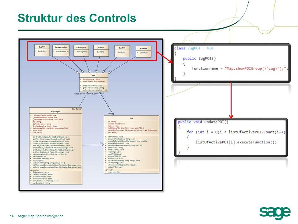 14 Struktur des Controls Sage: Map.Search Integration