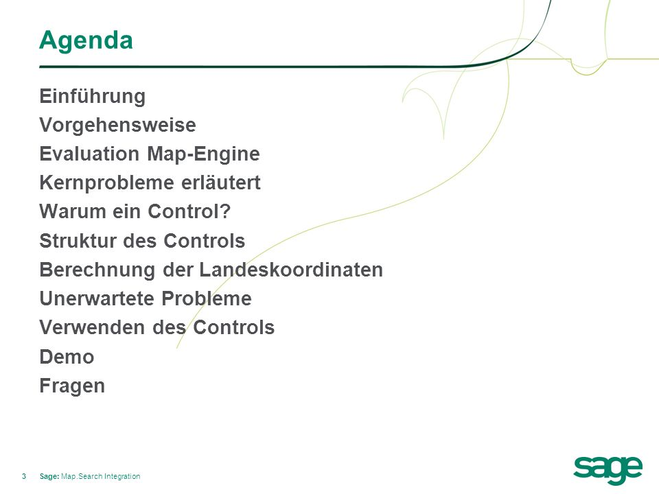 14 Struktur des Controls Sage: Map.Search Integration