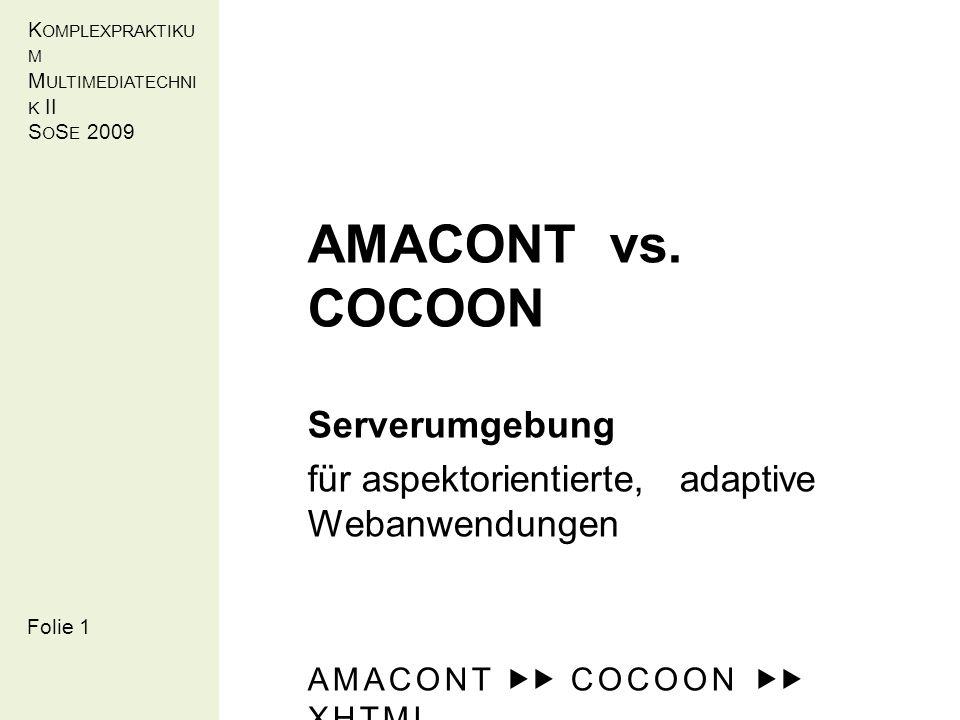 Folie 5 Zielstellung AMACONT Dokumentstruktur (Instanz):
