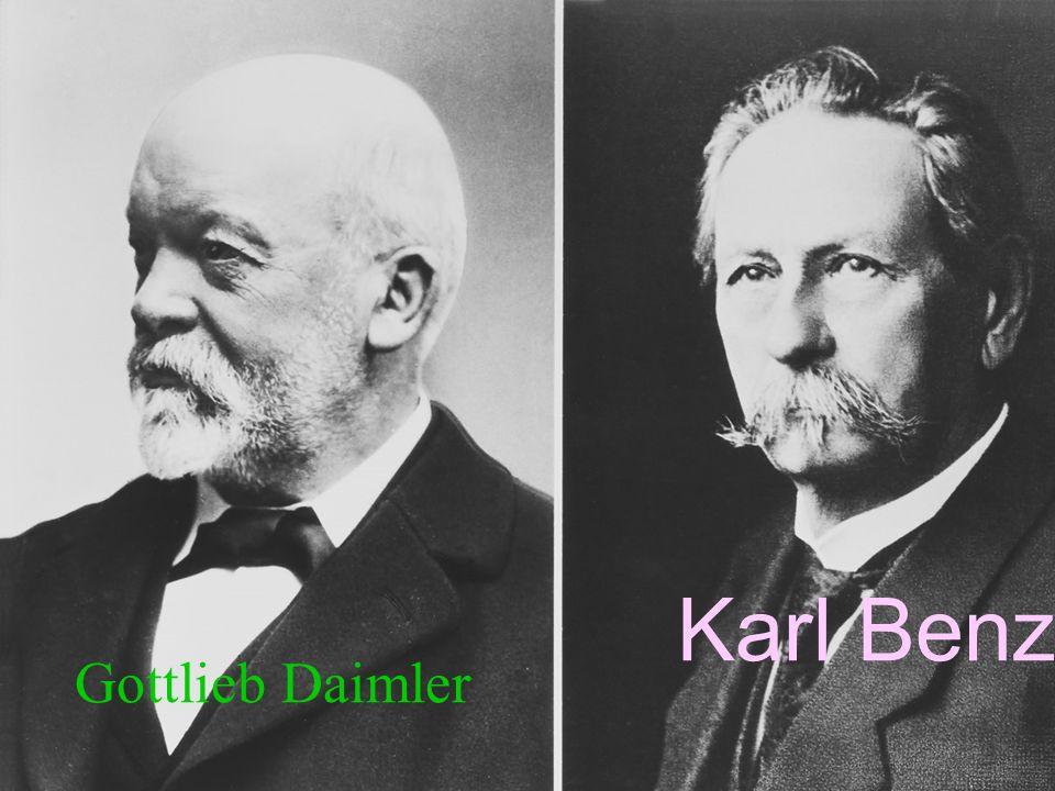 Gottlieb Daimler Karl Benz