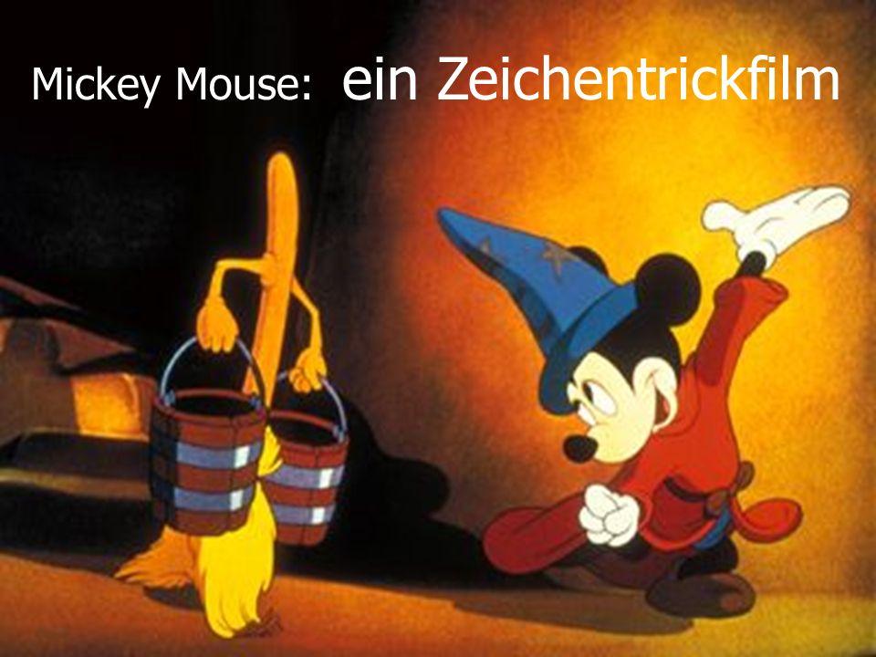 Mickey Mouse: ein Zeichentrickfilm