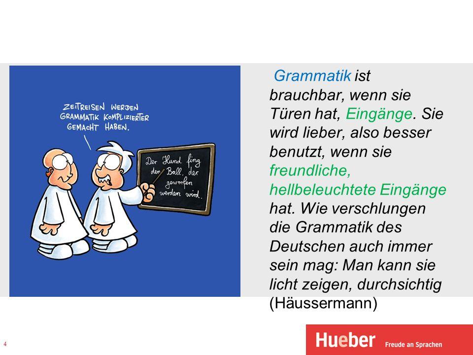 Entwicklung des Sprachunterrichts und der Grammatikvorstellung 15