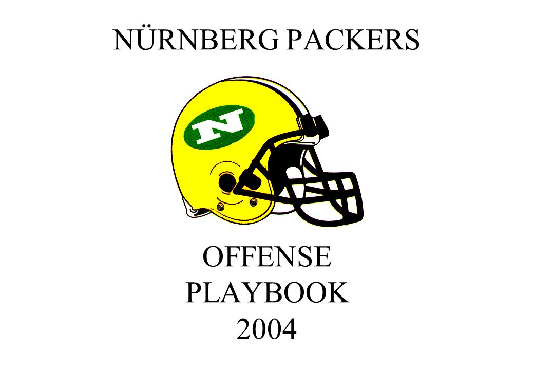 NÜRNBERG PACKERS OFFENSE PLAYBOOK 324657 89 0 HOLE NUMBERING SYSTEM 1