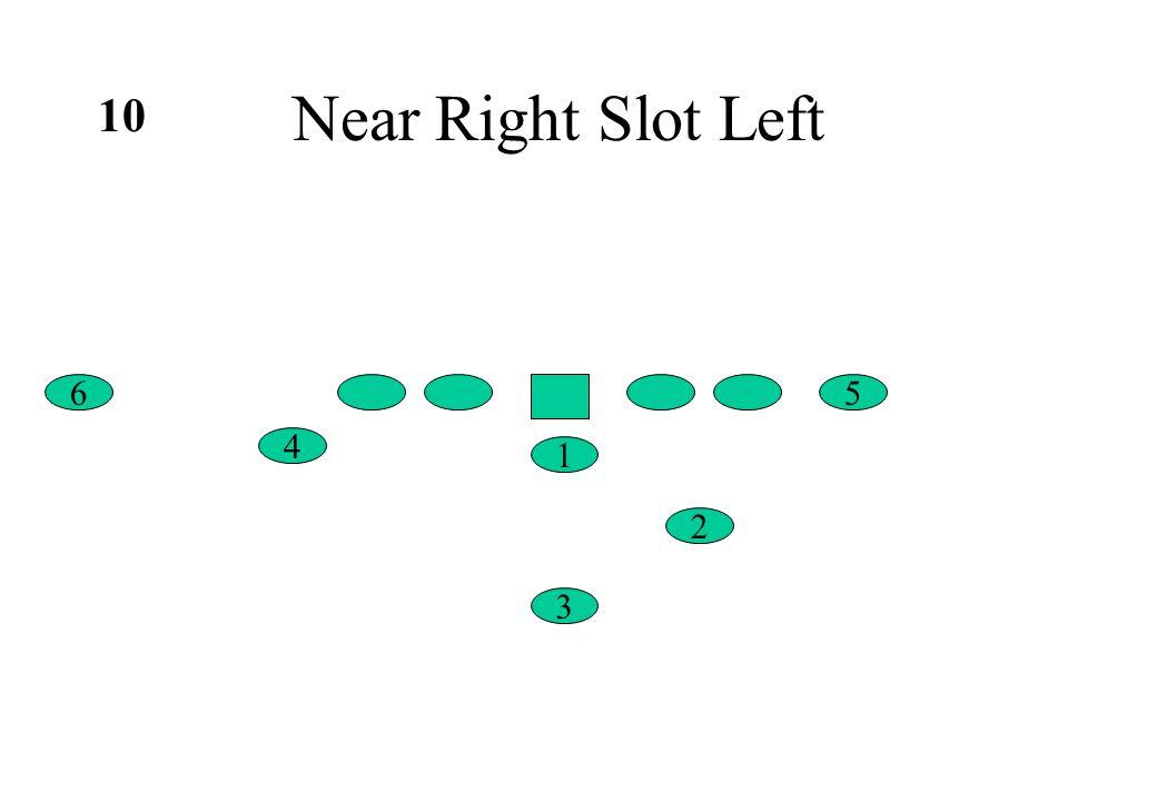 Near Right Slot Left 6 4 5 1 2 3 10