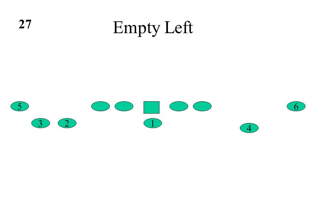 Empty Left 6 4 5 132 27