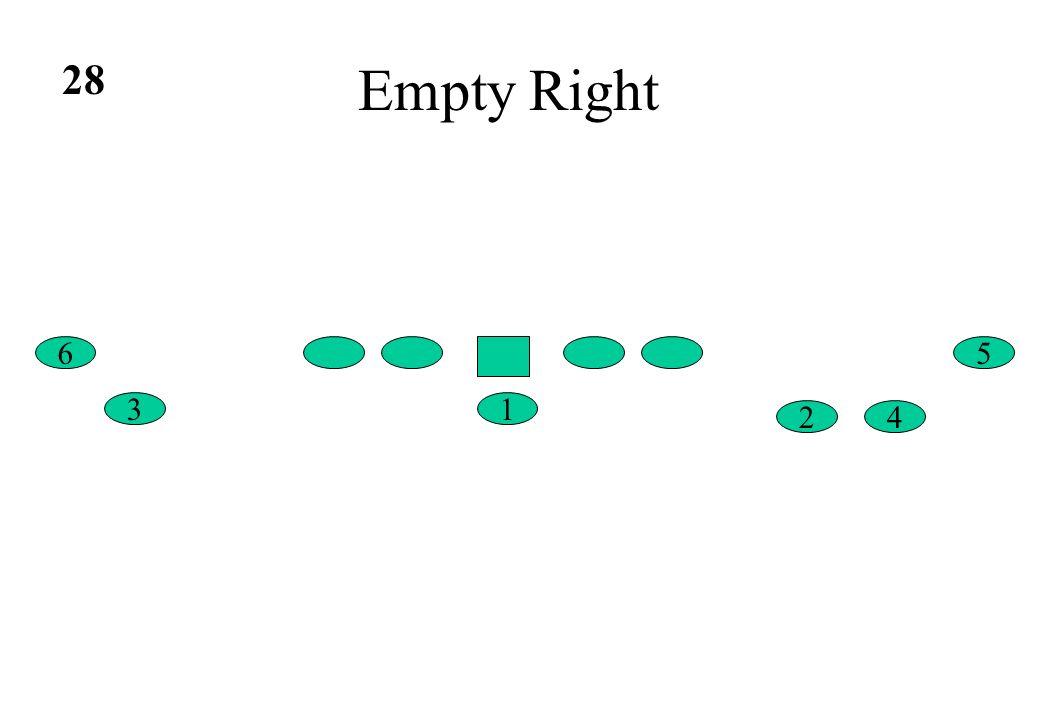 Empty Right 5 4 6 13 2 28