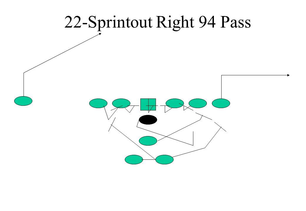 22-Sprintout Right 94 Pass
