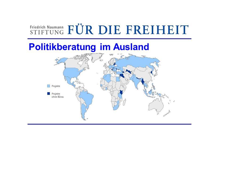 Politikberatung im Ausland Friedrich-Naumann-Stiftung