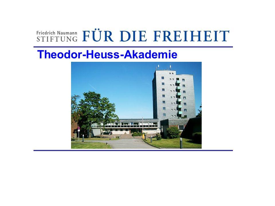 Theodor-Heuss-Akademie Friedrich-Naumann-Stiftung
