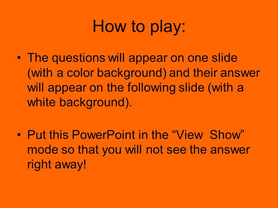 Antworte die Frage! ____ ________ _____ ___________.