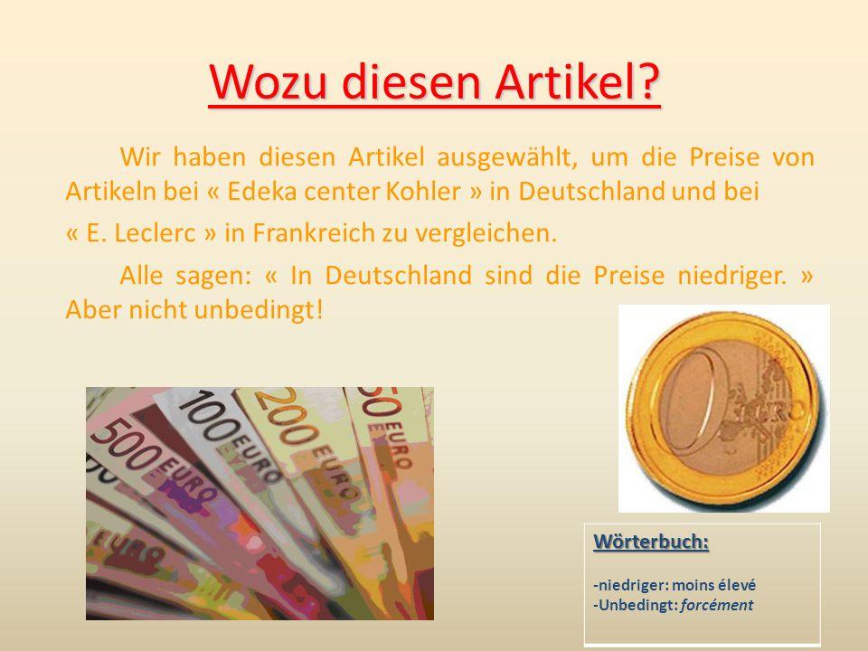 MineralWasser DeutschlandPreisunterschiedFrankreich 3.991.772.22