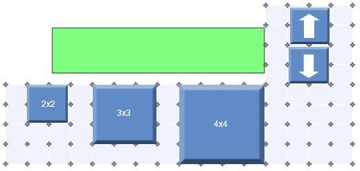 2x2 3x3 4x4