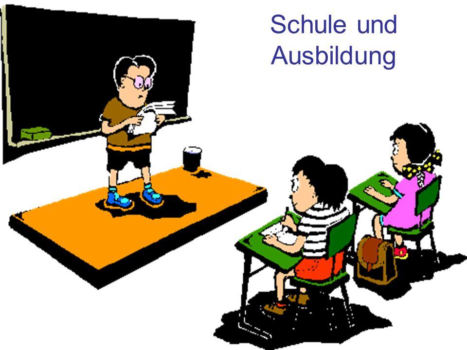 Schultypen Grundschule Mittelschule Gymnasium Fachmittelschule Fachschule Hochschule Universität