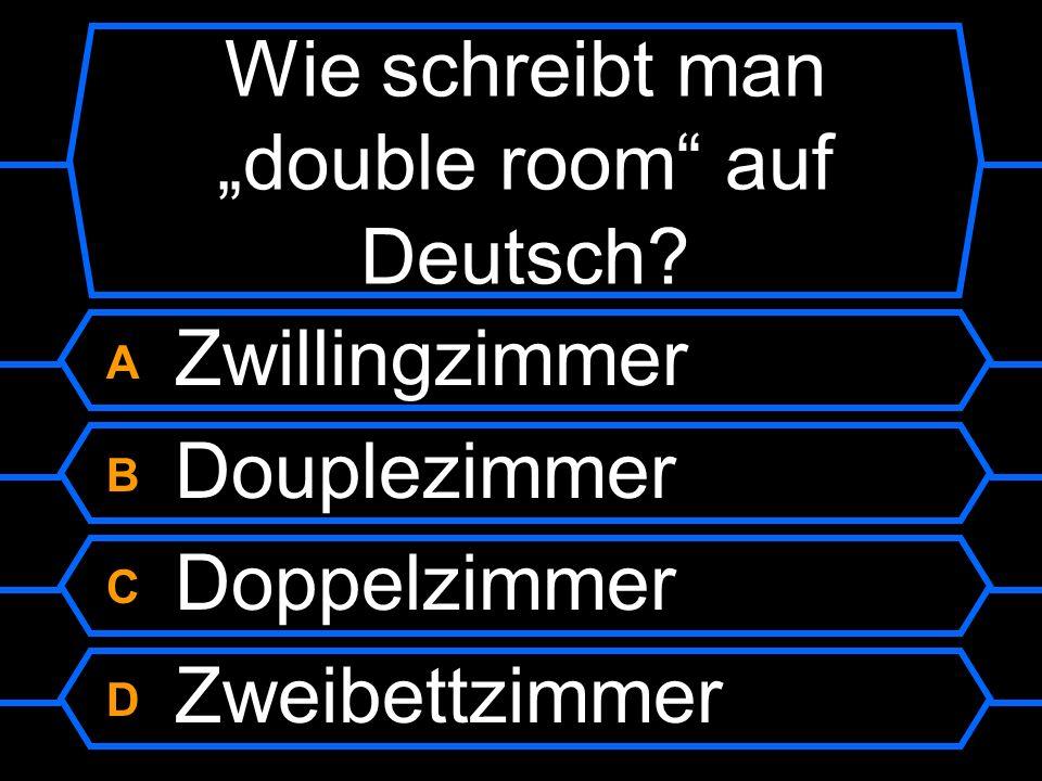 Wie schreibt man I didn´t like the view auf Deutsch?.