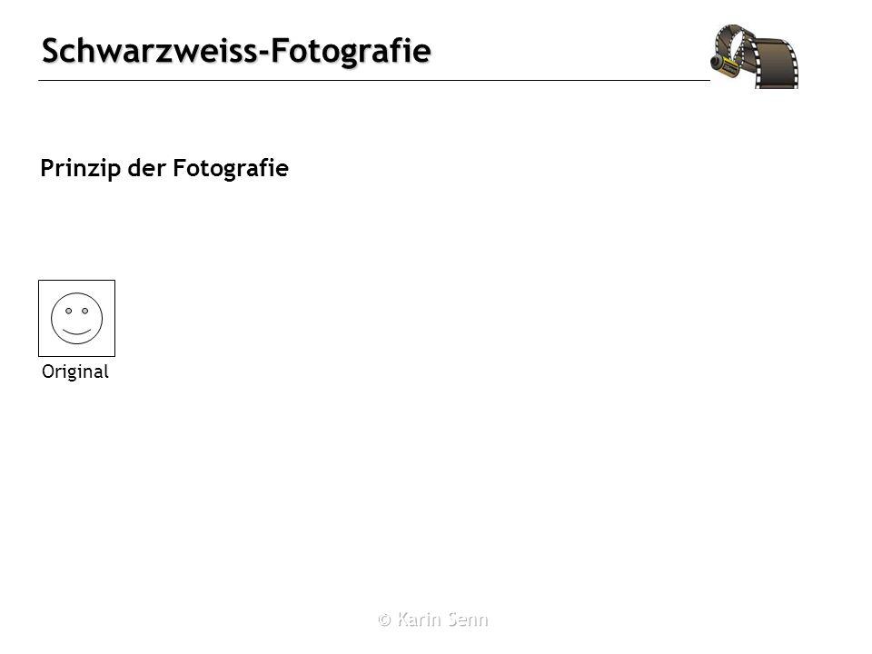 Schwarzweiss-Fotografie Belichten des Films 2 Ag + + 2 Br - 2 Ag + Br 2 E˚ = -0.26 V